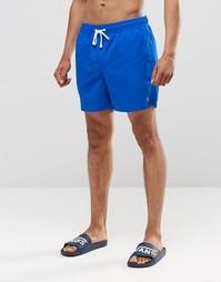 Комбинируемые шорты средней длины Ringspun - Темно-синий