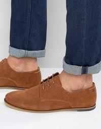 Замшевые туфли на шнуровке Jack & Jones - Рыжий