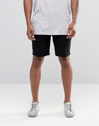 ASOS Jersey Shorts In Super Skinny Fit In Black - Черный