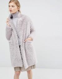Плюшевое пальто Paisie - Серый