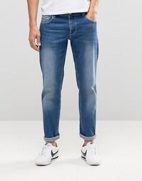 Эластичные джинсы слим ASOS - Умеренный синий
