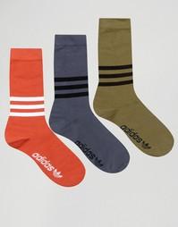 3 пары носков adidas Originals AZ0162 - Мульти