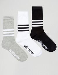 3 пары носков adidas Originals AZ0161 - Мульти