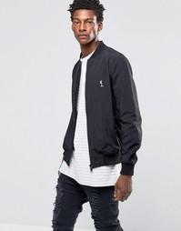 Куртка-пилот с логотипом на груди Religion - Черный