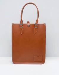 Сумка-тоут The Leather Satchel Company - Лондонский беж
