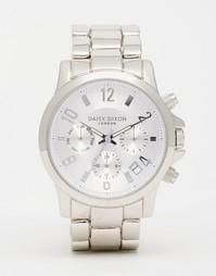 Часы с хронографом Daisy Dixon - Серебряный