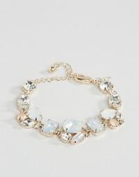 Броский браслет с камнями Coast Emily - Розовое золото
