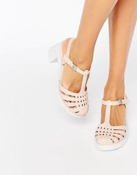 Туфли на каблуке Zaxy Dream - Nude contrast