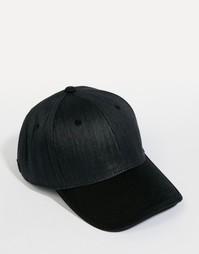 Соломенная бейсболка Esprit - Черный