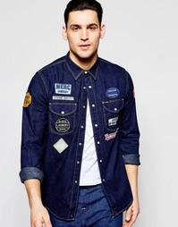 Рубашка Lee 101 Worker - Синий