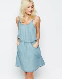 Джинсовое платье Only - Светло-голубой деним