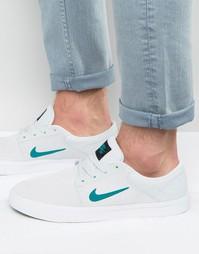 Серые кроссовки Nike SB Portmore 725027-003 - Серый