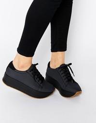Темно-серые кроссовки на платформе Vagabond Casey - Темно-серый