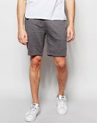 ASOS Jersey Shorts In Charcoal - Угольный меланжевый