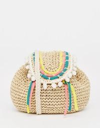 Тканая сумка через плечо South Beach - Многоцветный