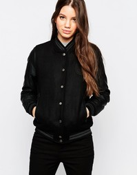 Университетская куртка Bellfield - Черный