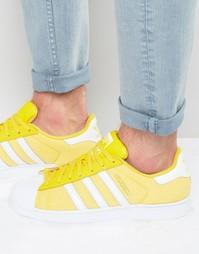 Кроссовки adidas Originals Superstar Summer Pack S75662 - Желтый