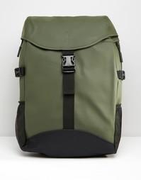 Зеленый рюкзак Rains Runner - Зеленый
