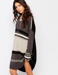 Вязаное платье One Teaspoon Marseille - Серый