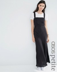 Платье-сарафан макси ASOS PETITE - Черный