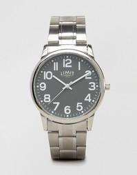 Серебристые наручные часы с серым циферблатом Limit эксклюзивно для AS