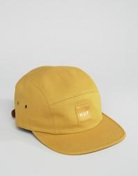 Кепка из парусины HUF Volley - Желтый