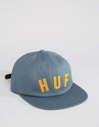 6-панельная кепка HUF Shortstop - Синий