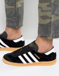 Черные кроссовки adidas Originals Hamburg S76696 - Черный