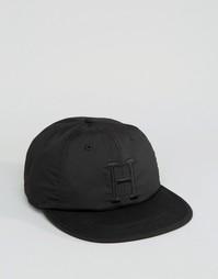 Классическая 6-панельная кепка HUF - Черный