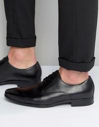 Черные кожаные туфли дерби Aldo Mathurin - Черный