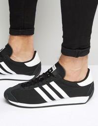 Черные кроссовки adidas Originals Country OG S81860 - Черный