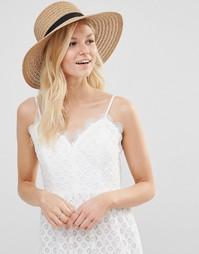 Соломенная шляпа 7X - Бежевый