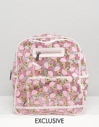 Мягкий эксклюзивный рюкзак с принтом мороженого Skinnydip - Принт
