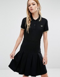Платье Fred Perry Reissue Trico - Черный