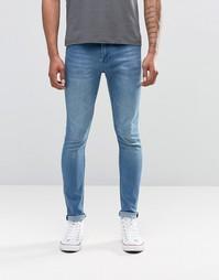 Облегающие синие джинсы Cheap Monday - Синий