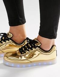 Кроссовки со светящейся подошвой Wize & Ope