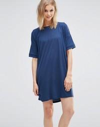 Oversize-платье Y.A.S Lessy - Синяя эмблема