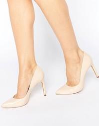Нюдовые лакированные туфли‑лодочки Ted Baker Neevo