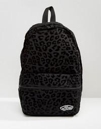 Рюкзак с бархатистой отделкой Vans Calico - Черный
