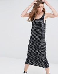 Платье в полоску Cheap Monday Shim - Черная луна
