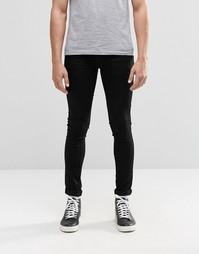 Суперэластичные джинсы Religion - Черный