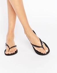 Havaianas Black Slim Flip Flops - 0090