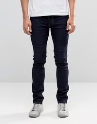 Темно-синие джинсы слим Religion Noize - Темный синий