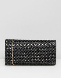 Черный клатч с декоративной отделкой ALDO - Черный
