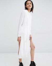 Платье-рубашка Just Female Marina - Белый