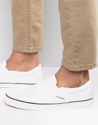 Парусиновые кроссовки‑слипоны Jack & Jones - Белый