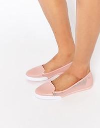 Туфли на плоской подошве Zaxy City - Телесный