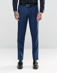 Темно-синий костюм зауженного кроя ASOS - Темно-синий
