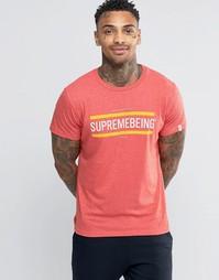 Футболка с полосками Supreme Being - Красный