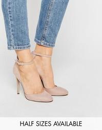 Туфли на высоком каблуке ASOS PLAYWRIGHT - Телесный микро